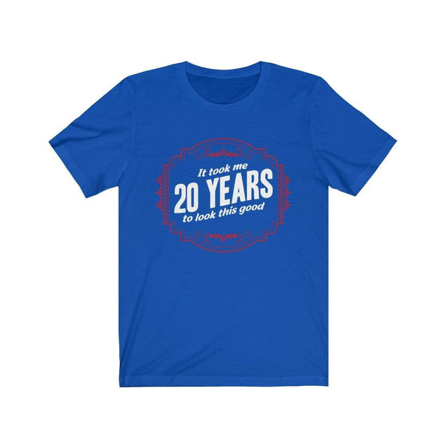 20th Birthday T-Shirt True Royal / S  - VPI Shop
