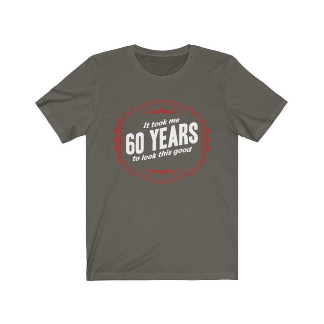 60th Birthday T-Shirt Army / S  - VPI Shop