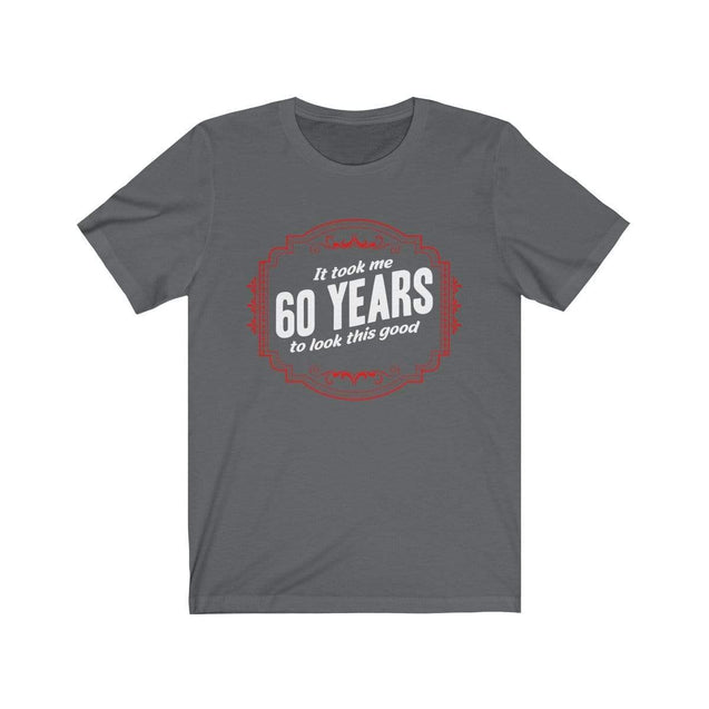 60th Birthday T-Shirt Asphalt / S  - VPI Shop