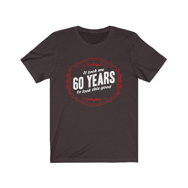 60th Birthday T-Shirt Chocolate/Brown / S  - VPI Shop