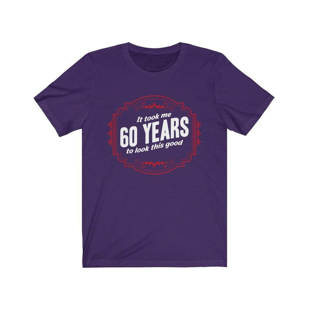 60th Birthday T-Shirt Team Purple / S  - VPI Shop