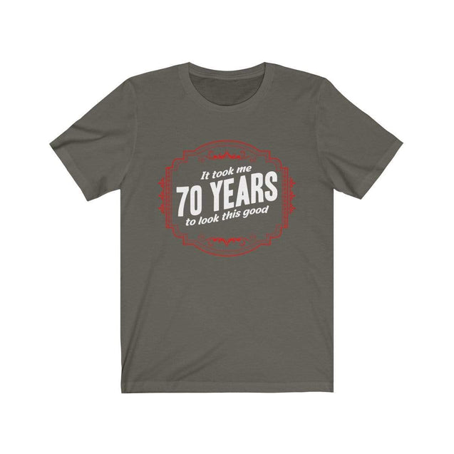 70th Birthday T-Shirt Army / S  - VPI Shop