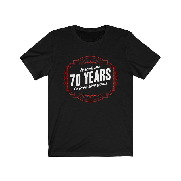 70th Birthday T-Shirt Black / L  - VPI Shop