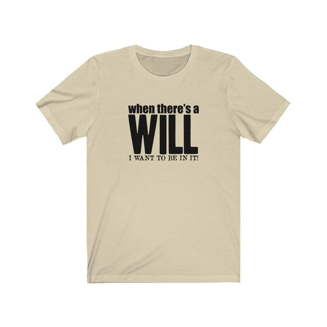 A Will T-Shirt Natural / S  - VPI Shop
