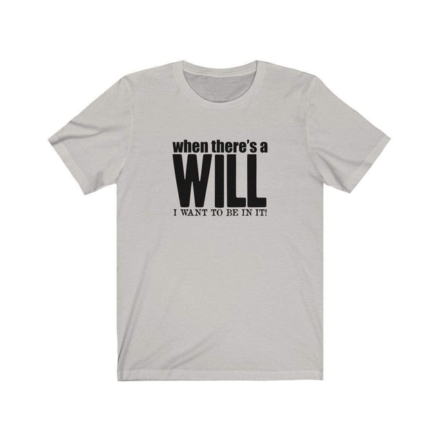 A Will T-Shirt Silver / S  - VPI Shop
