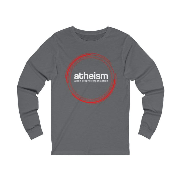 Atheism Long Sleeve T-Shirt Asphalt / S  - VPI Shop