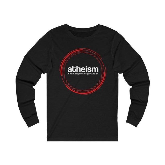 Atheism Long Sleeve T-Shirt Black / L  - VPI Shop