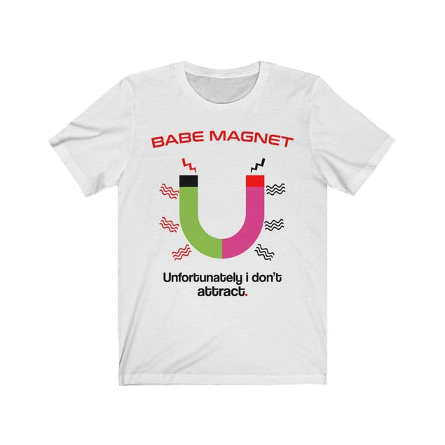 Babe Magnet T-Shirt White / L  - VPI Shop