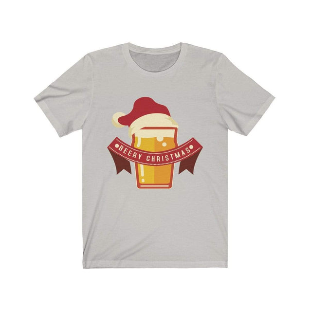 Beery Christmas T-Shirt Silver / S  - VPI Shop