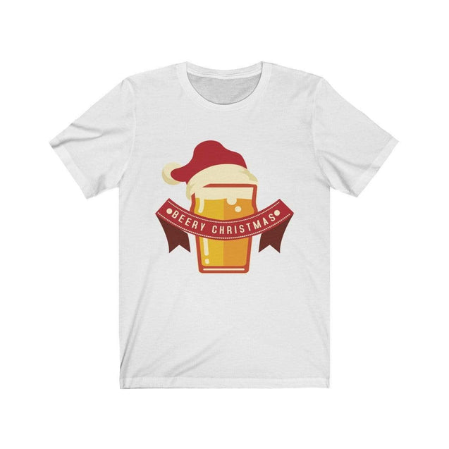 Beery Christmas T-Shirt White / S  - VPI Shop