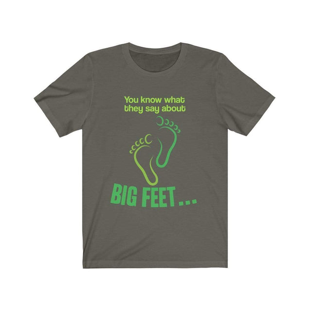 Big Feet T-Shirt Army / S  - VPI Shop