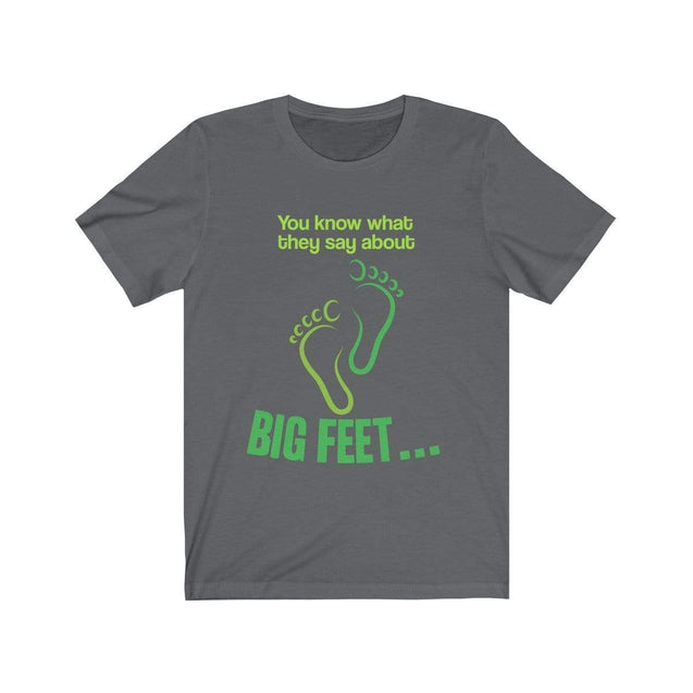 Big Feet T-Shirt Asphalt / S  - VPI Shop