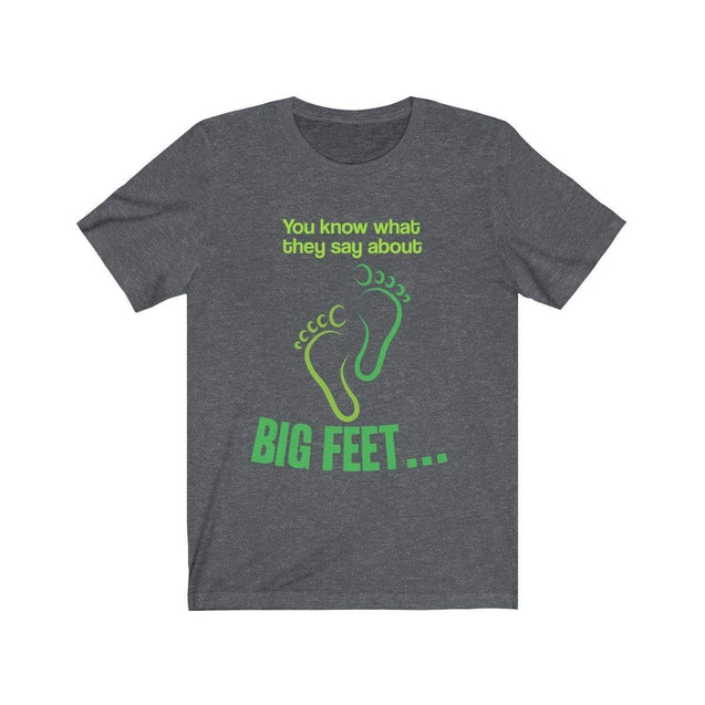 Big Feet T-Shirt Dark Grey Heather / S  - VPI Shop