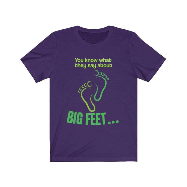 Big Feet T-Shirt Team Purple / S  - VPI Shop
