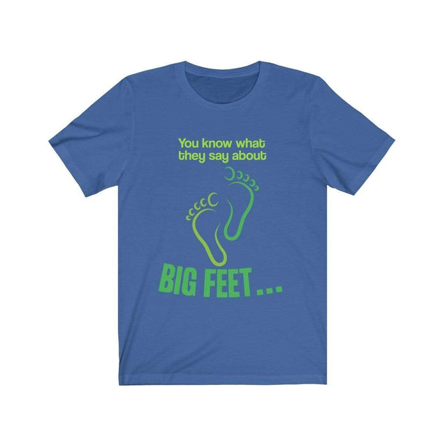 Big Feet T-Shirt True Royal / S  - VPI Shop