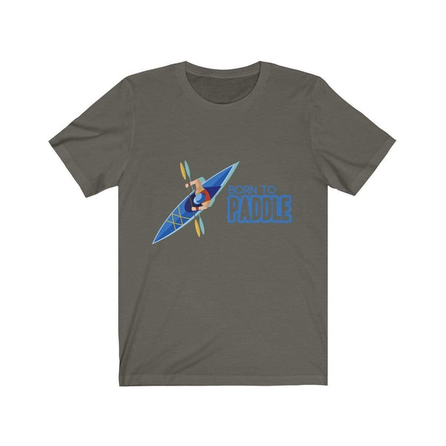 Born to paddle T-Shirt Army / S  - VPI Shop