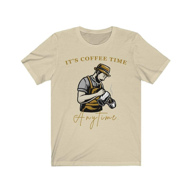 Coffee Time T-Shirt Natural / S  - VPI Shop