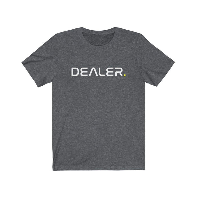 Dealer T-Shirt Dark Grey Heather / S  - VPI Shop