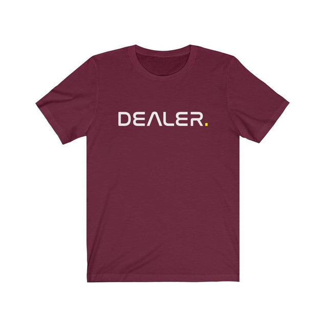 Dealer T-Shirt Maroon / S  - VPI Shop
