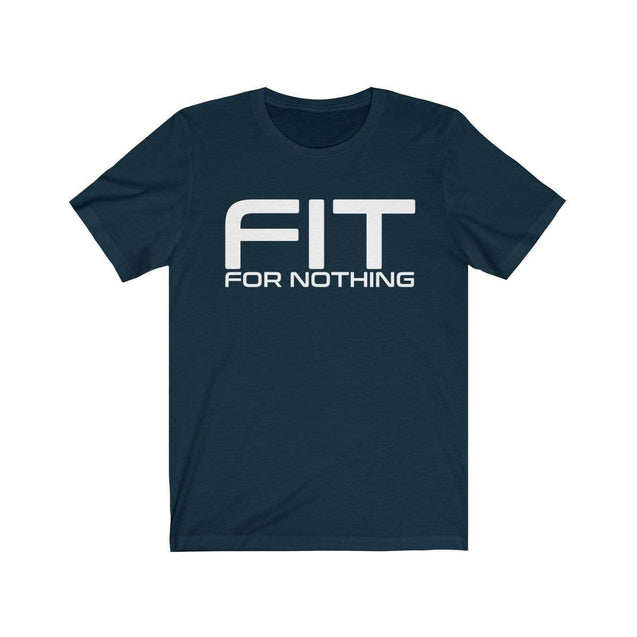Fit for nothing T-Shirt Navy / S  - VPI Shop