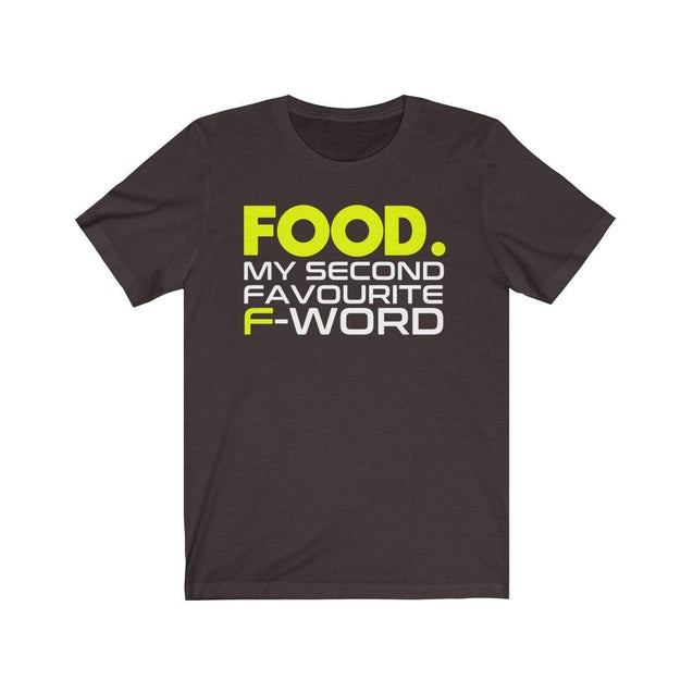 Food T-Shirt Chocolate/Brown / S  - VPI Shop