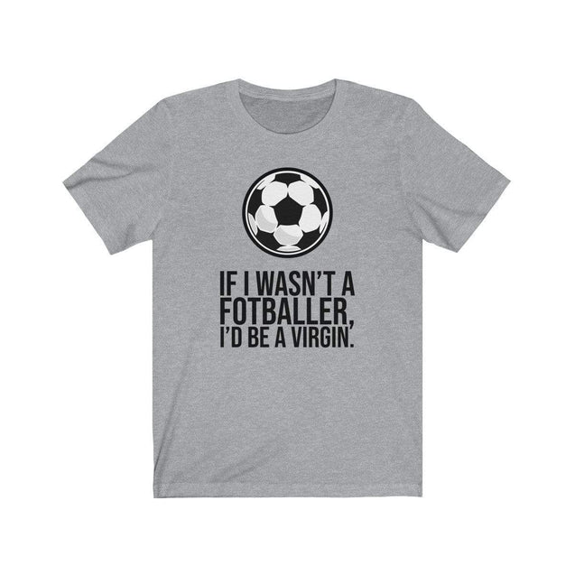 Fotballer T-Shirt Athletic Heather / S  - VPI Shop