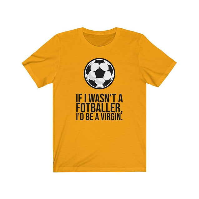 Fotballer T-Shirt Gold / L  - VPI Shop