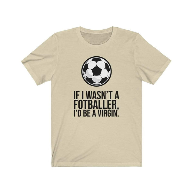 Fotballer T-Shirt Natural / S  - VPI Shop