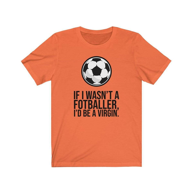 Fotballer T-Shirt Orange / S  - VPI Shop