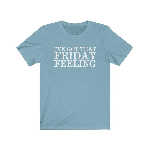 Friday Feeling T-Shirt Baby Blue / S  - VPI Shop