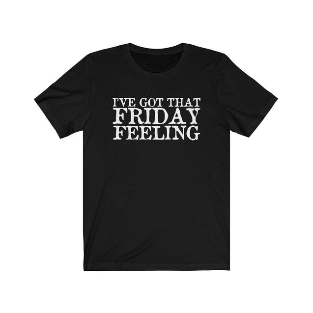 Friday Feeling T-Shirt Black / L  - VPI Shop