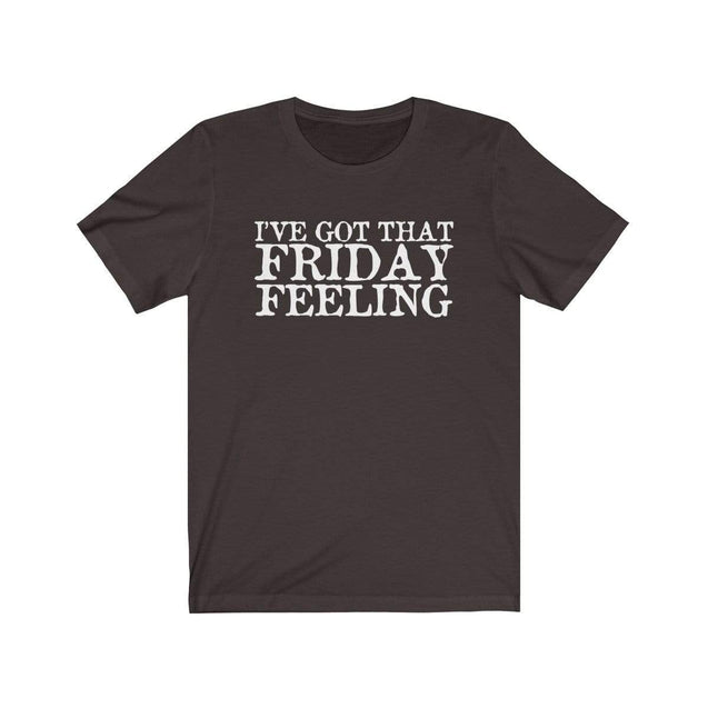 Friday Feeling T-Shirt Chocolate/Brown / S  - VPI Shop