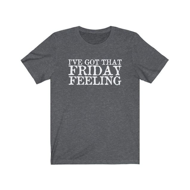 Friday Feeling T-Shirt Dark Grey Heather / S  - VPI Shop