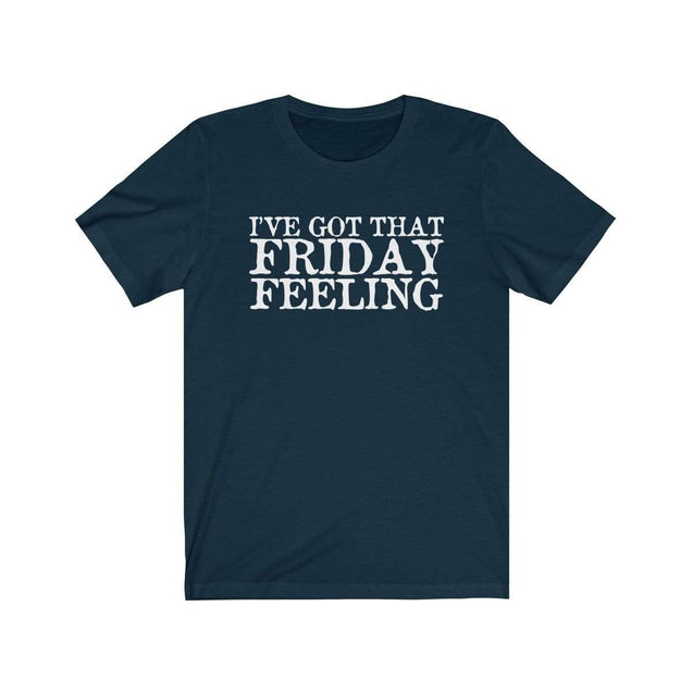 Friday Feeling T-Shirt Navy / S  - VPI Shop