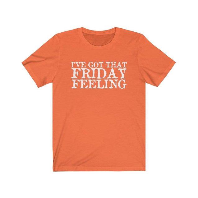 Friday Feeling T-Shirt Orange / S  - VPI Shop