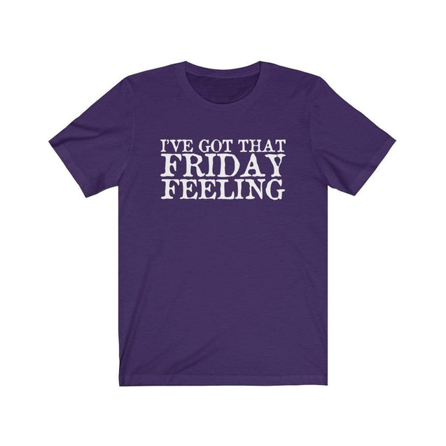 Friday Feeling T-Shirt Team Purple / S  - VPI Shop