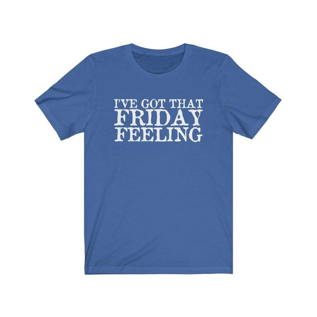 Friday Feeling T-Shirt True Royal / S  - VPI Shop