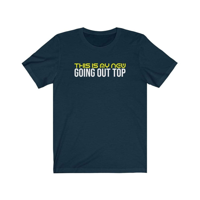 Going Out T-Shirt Navy / S  - VPI Shop