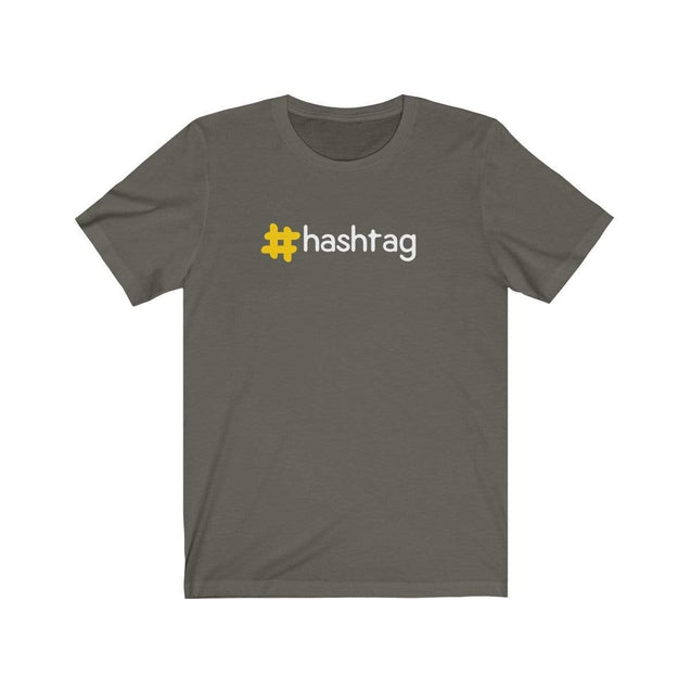 Hashtag T-Shirt Army / S  - VPI Shop
