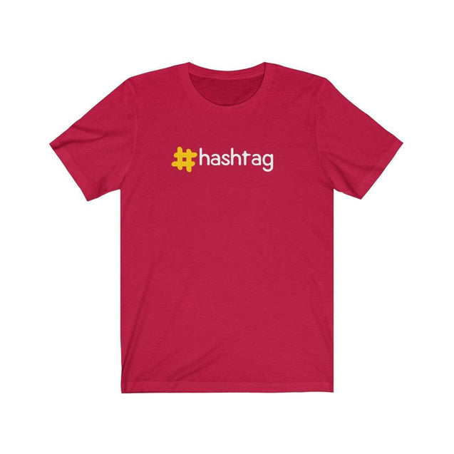 Hashtag T-Shirt Red / S  - VPI Shop