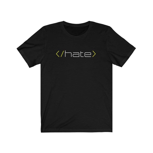 Hate T-Shirt Black / L  - VPI Shop