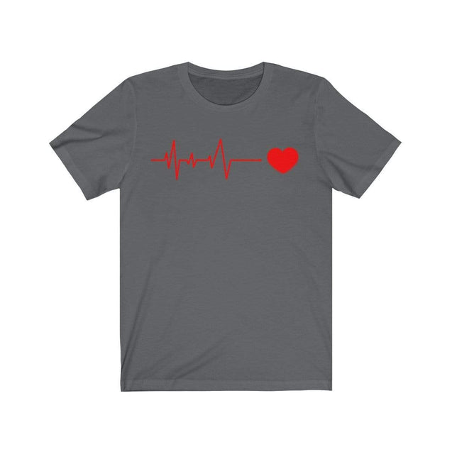 Heartbeat T-Shirt Asphalt / S  - VPI Shop