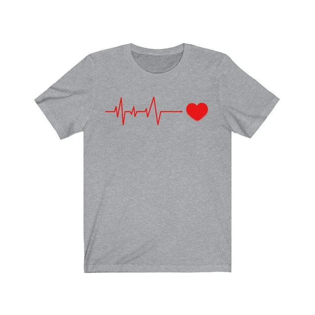 Heartbeat T-Shirt Athletic Heather / L  - VPI Shop