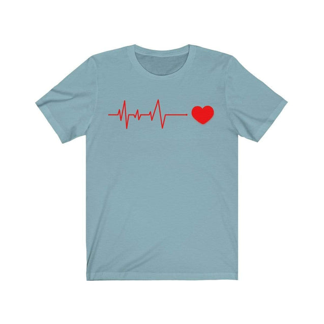 Heartbeat T-Shirt Baby Blue / S  - VPI Shop