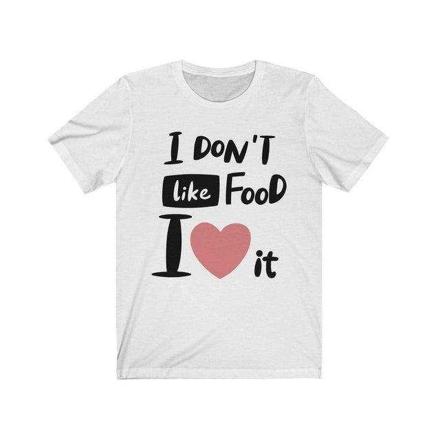 I Love Food T-Shirt White / S  - VPI Shop