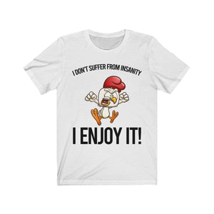 Insanity T-Shirt White / L  - VPI Shop