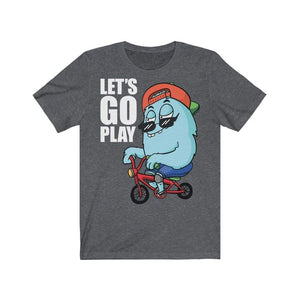Let's Go Play T-Shirt Dark Grey Heather / L  - VPI Shop