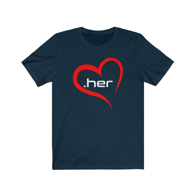 Love Her T-Shirt Navy / S  - VPI Shop