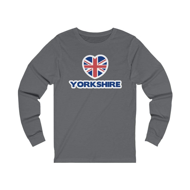 Love Yorkshire Long Sleeve T-Shirt Asphalt / S  - VPI Shop