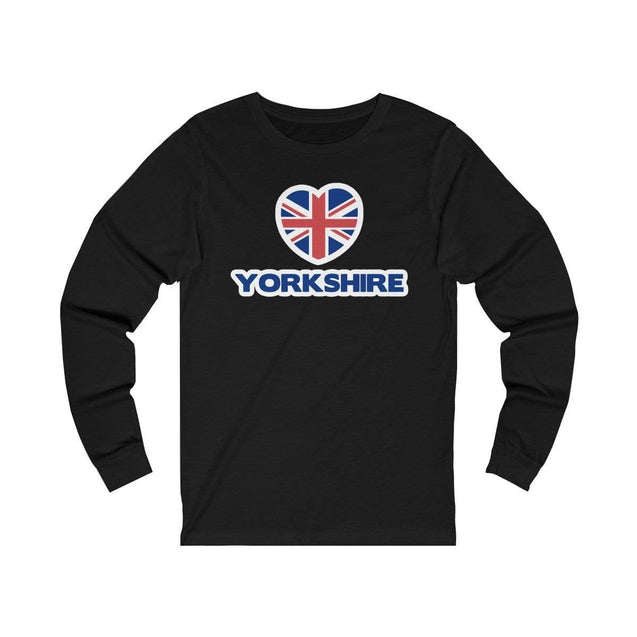 Love Yorkshire Long Sleeve T-Shirt Black / S  - VPI Shop